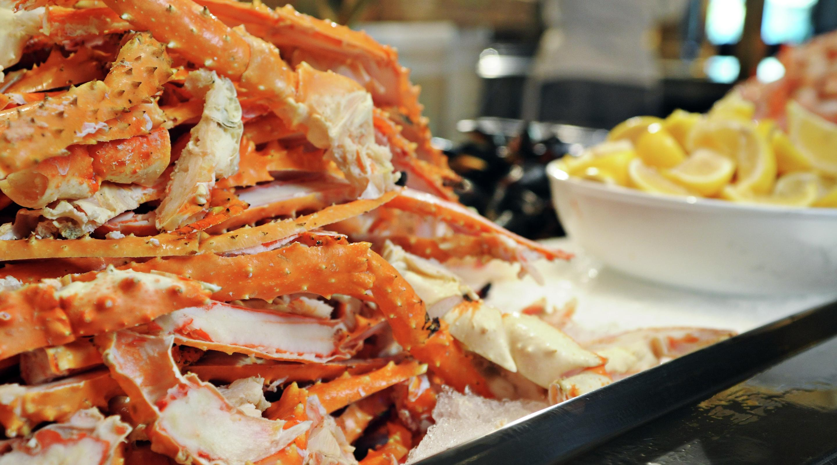River City Casino Crab Leg Buffet