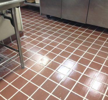 Tile Floor Regrouting
