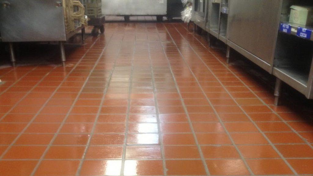Rampro Restaurant Tile Floor Regrouting